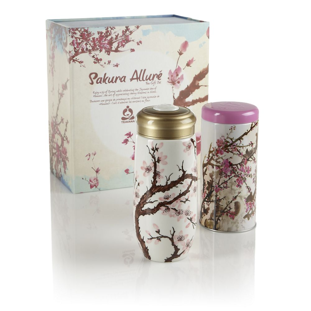 Teavana Sakura Allure Tea Gift Set