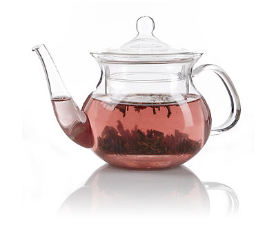 Pagoda Glass Teapot