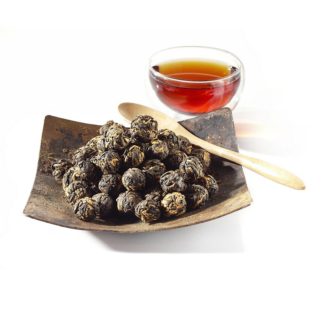Teavana Black Dragon Pearls Loose-Leaf Black Tea