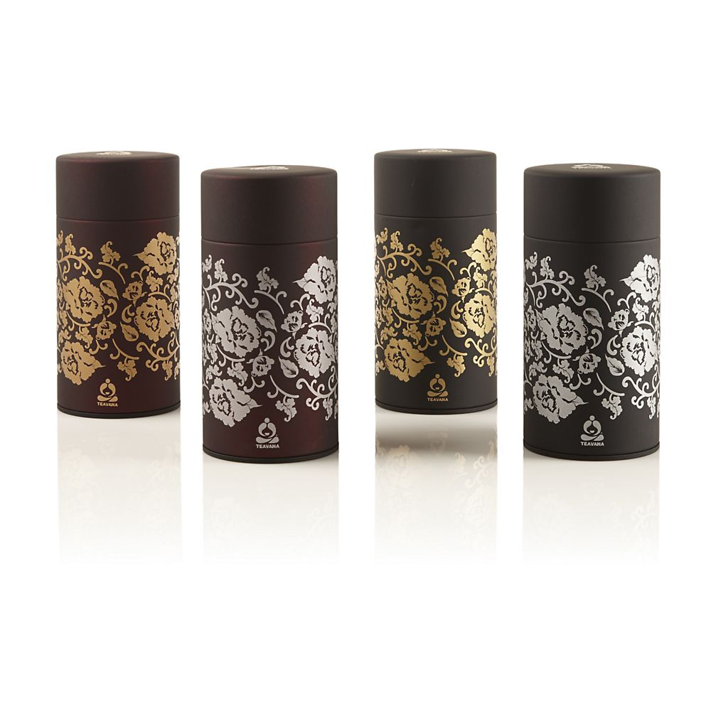 Teavana Brocade Tea Tins