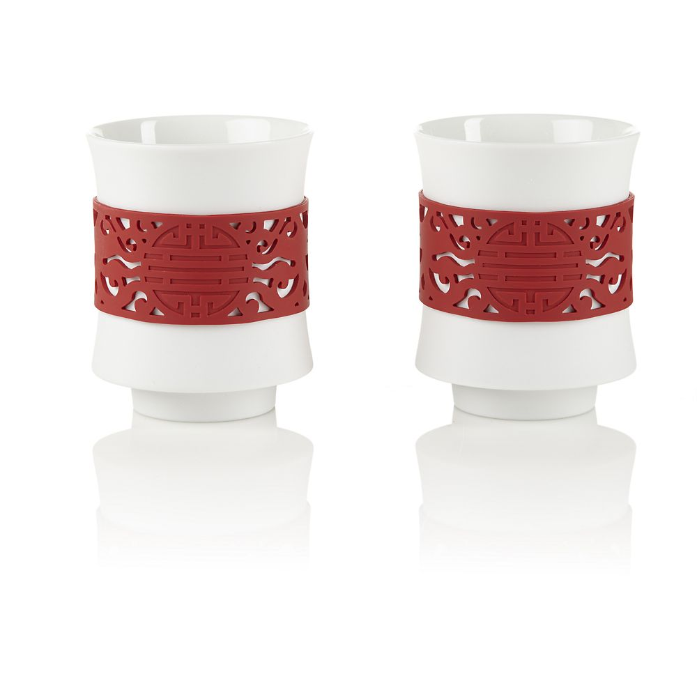 Teavana Red Dragon Tea Cup Set