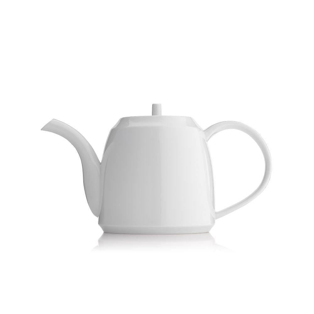 Teavana Saikai Essence Contemporary White Porcelain Teapot