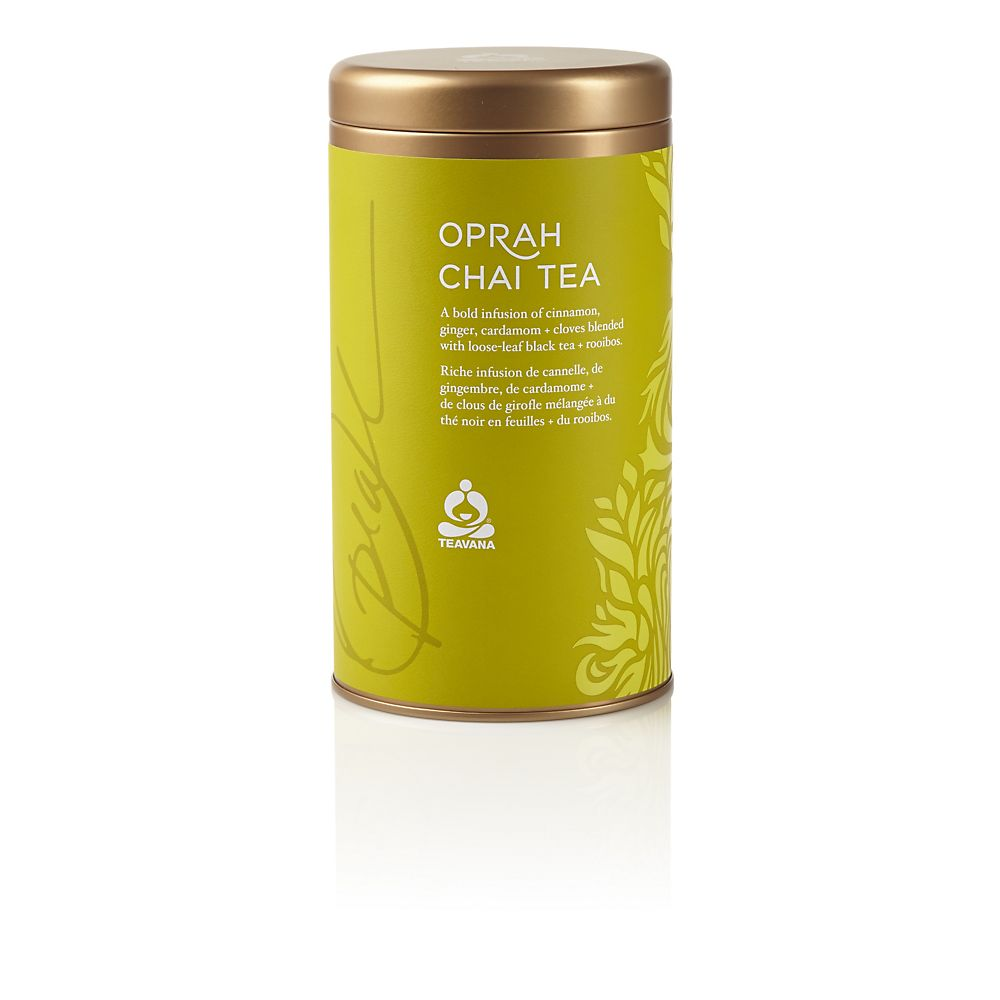 Teavana Oprah Chai Tea Tin 16oz