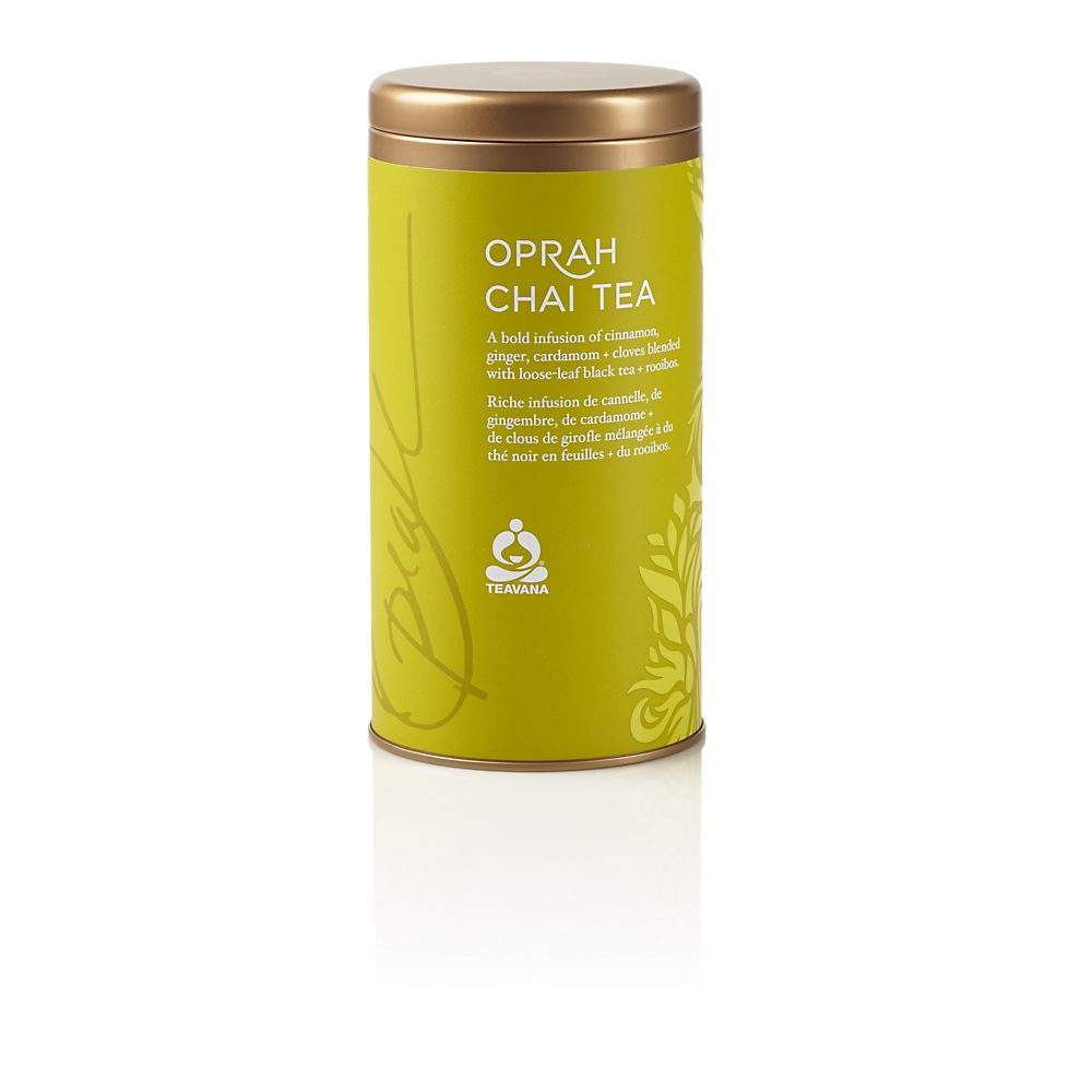 Teavana Oprah Chai Tea Tin 8oz