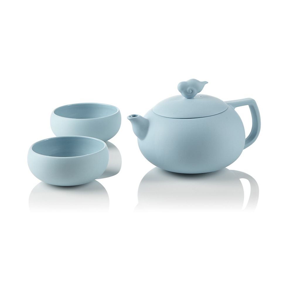 Teavana Cloud Teapot Set