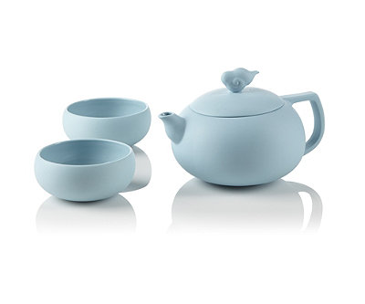 Cloud teapot set at teavana teavana - Teavana tea pots ...