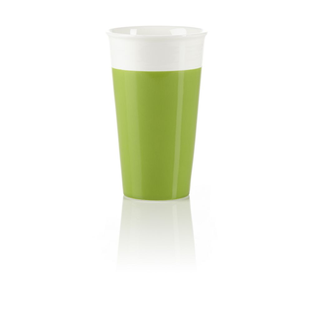 Teavana Green Ceramic Iced Tea Tumbler