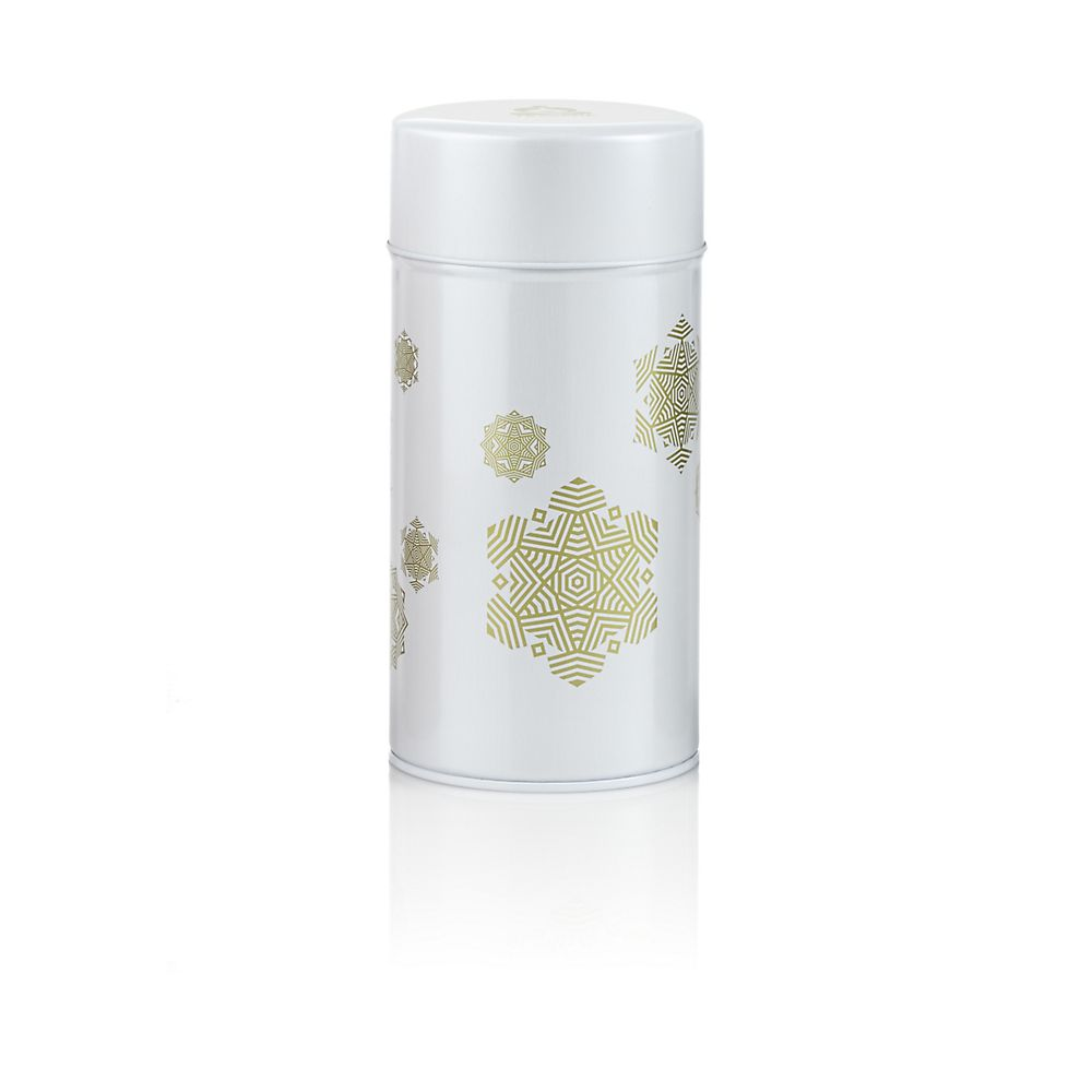 Teavana Snowflake Tea Tin 5oz