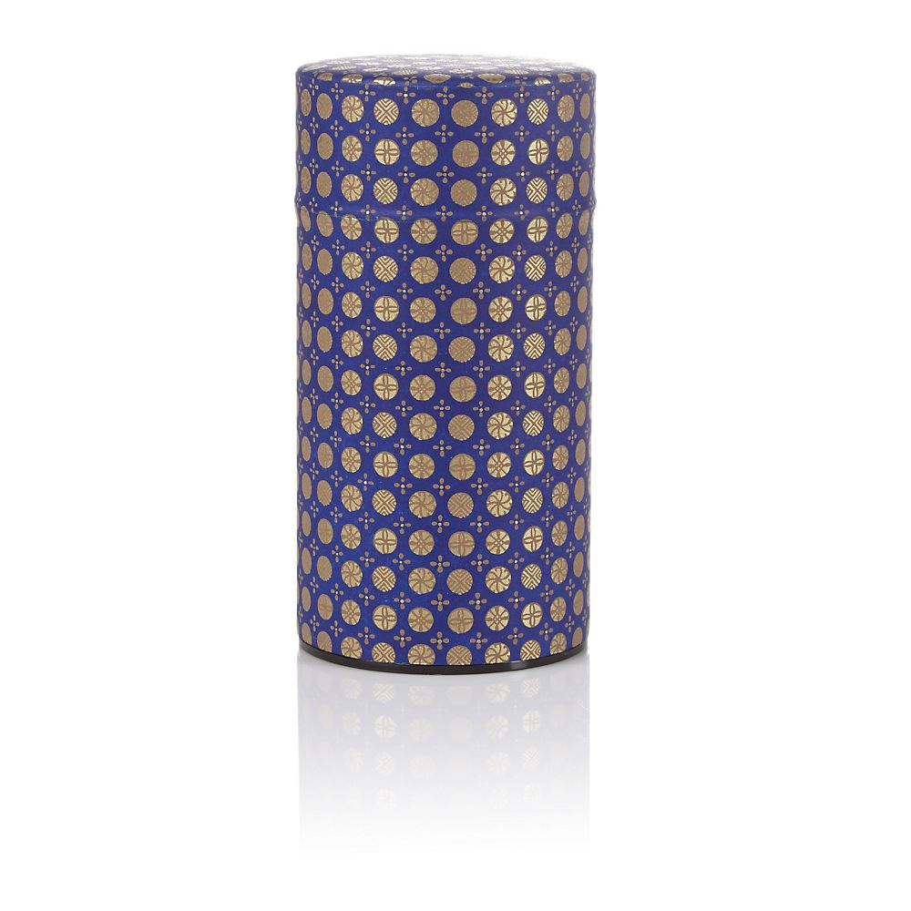 Teavana Purple Ellipse Washi Tin - 5oz