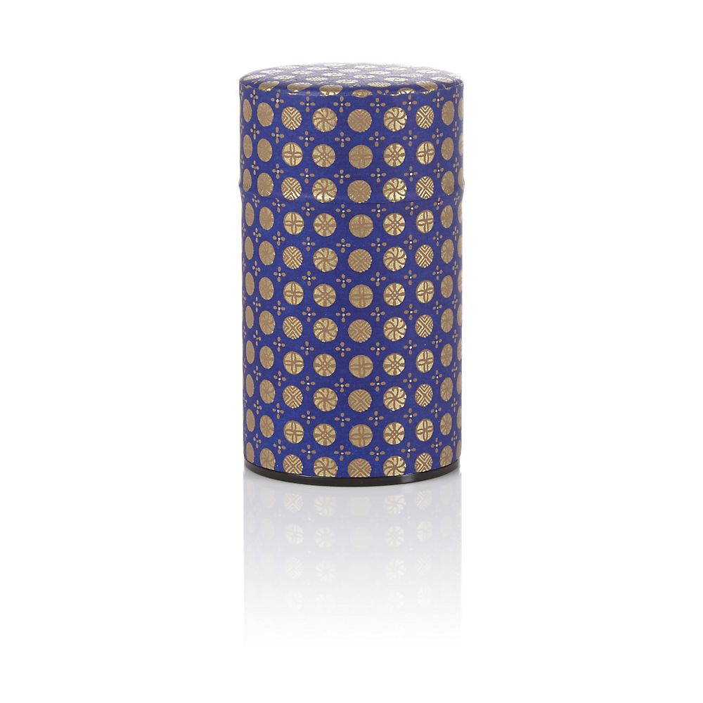 Teavana Purple Ellipse Washi Tin - 3oz