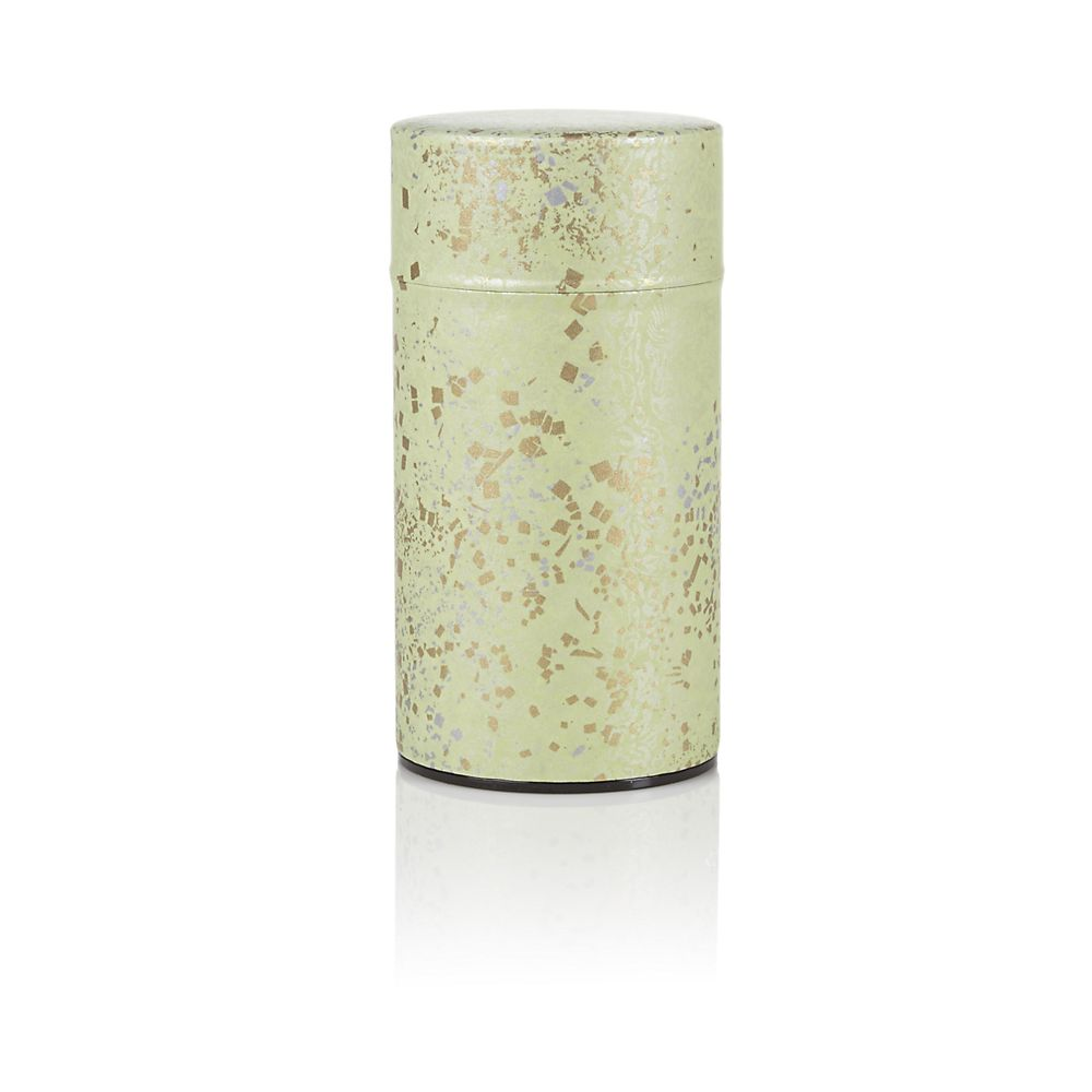 Teavana Green Metallic Washi Tin - 5oz