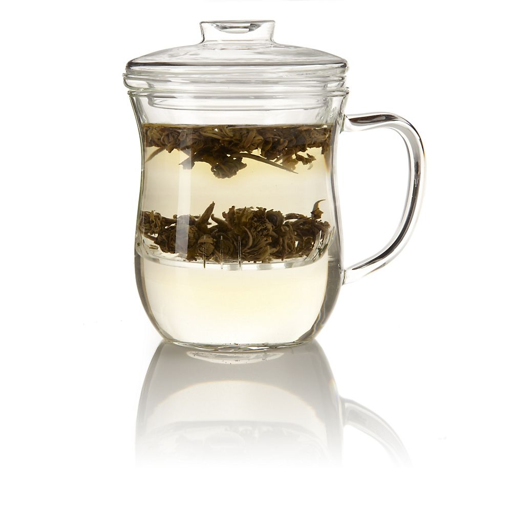 Teavana Joli Glass Mug with Infuser