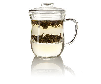 Joli Glass Mug with Infuser