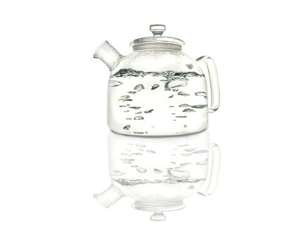 Alasdair Glass Tea Kettle