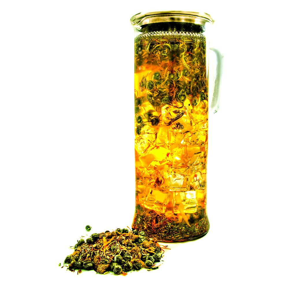 Teavana Camellia Cylindre Glass Tea Maker