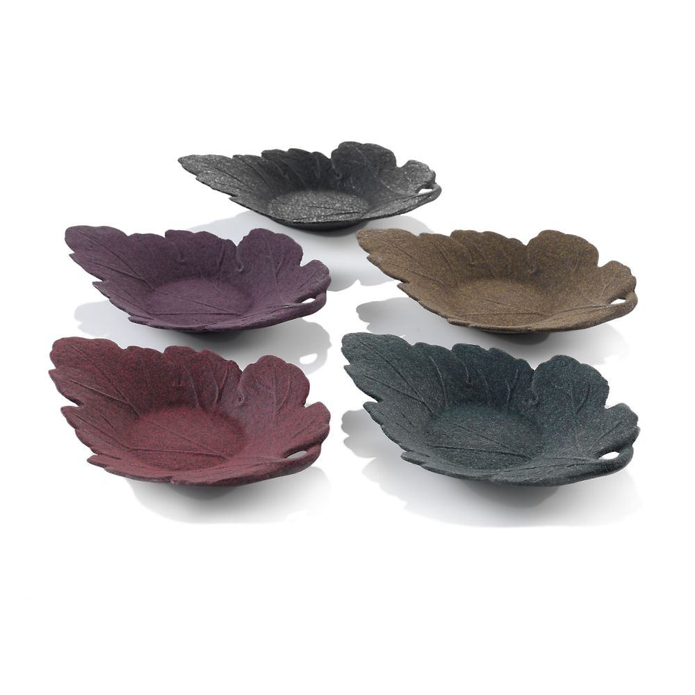 Teavana Oak Leaf Cast Iron Coaster
