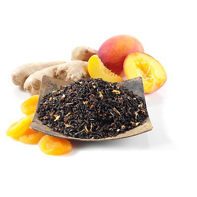 Ginger Peach Apricot Flavored & Scented Black Tea