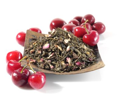 Teavana Japanese Wild Cherry Loose Leaf Green Tea