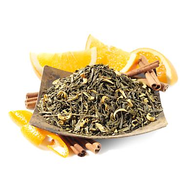 Mandarin Orange Organic Green Tea