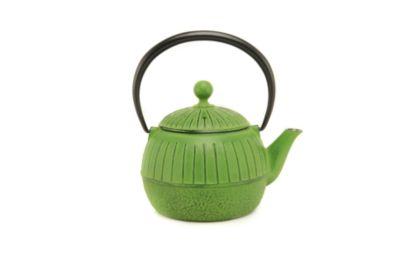 Green Sun Cast Iron Teapot