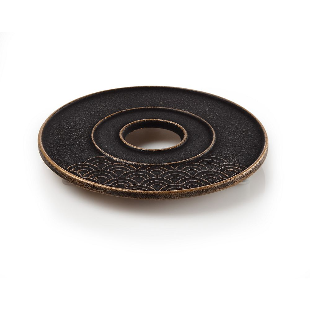 Teavana Cast Iron Wave Trivet