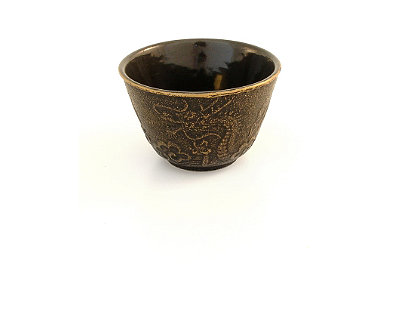 Imperial Dragon Cast Iron Tea Cup