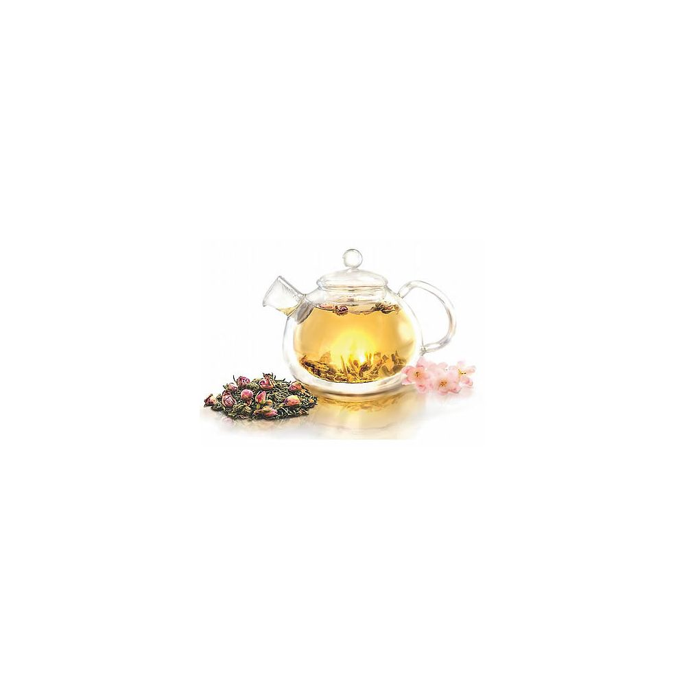 Teavana Small Dragonfly Cast Iron Teapot, Red