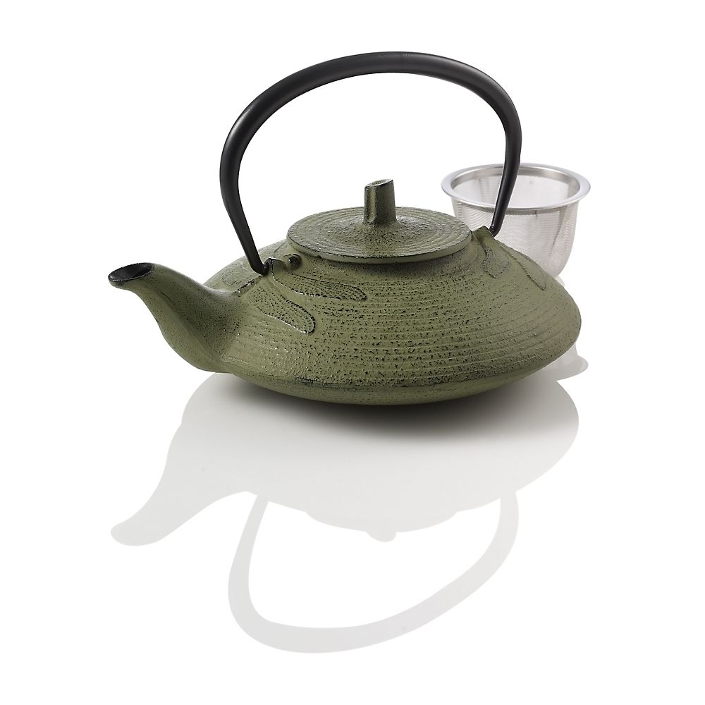 Teavana Large Dragonfly Cast Iron Teapot