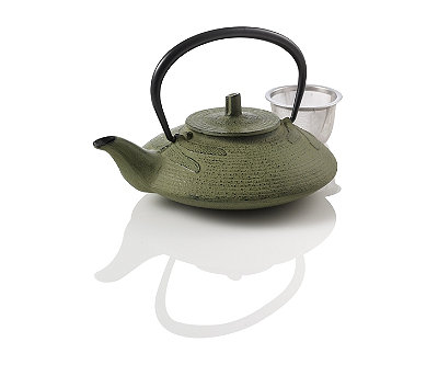 Dragonfly Cast Iron Teapot