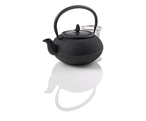 Featured Item: Hobnail Cast Iron Teapot