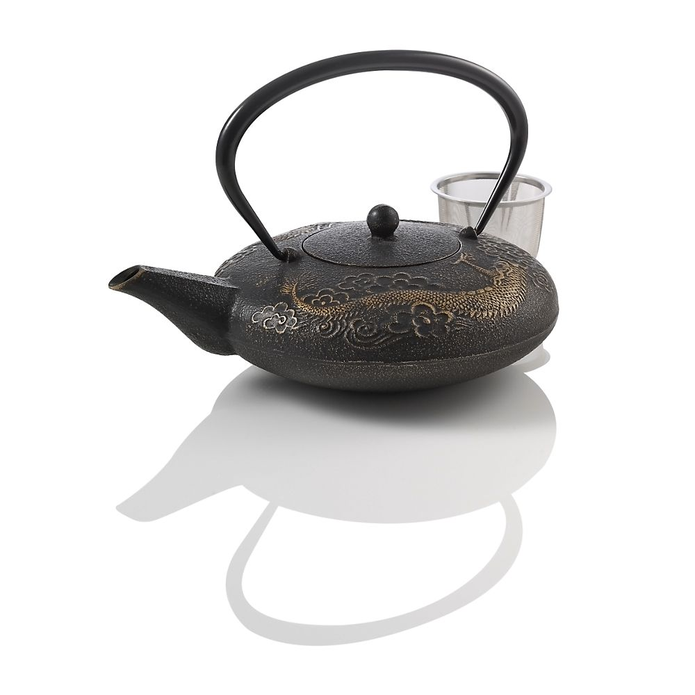 Teavana Imperial Dragon Cast Iron 44oz Teapot