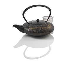 Imperial Dragon Cast Iron Teapot
