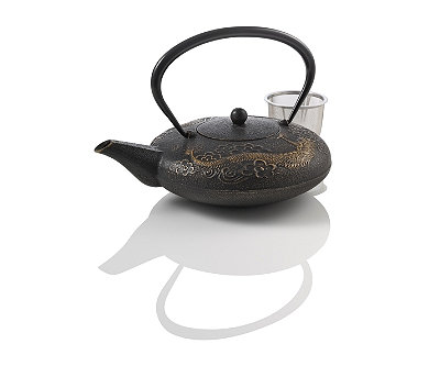 Shop for tea at teavana - Imperial dragon cast iron teapot ...