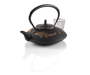 Featured Item: Prosperity Koi Cast Iron Teapot