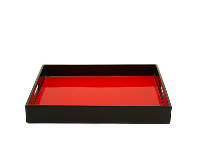 Red Tulip Serving Tray