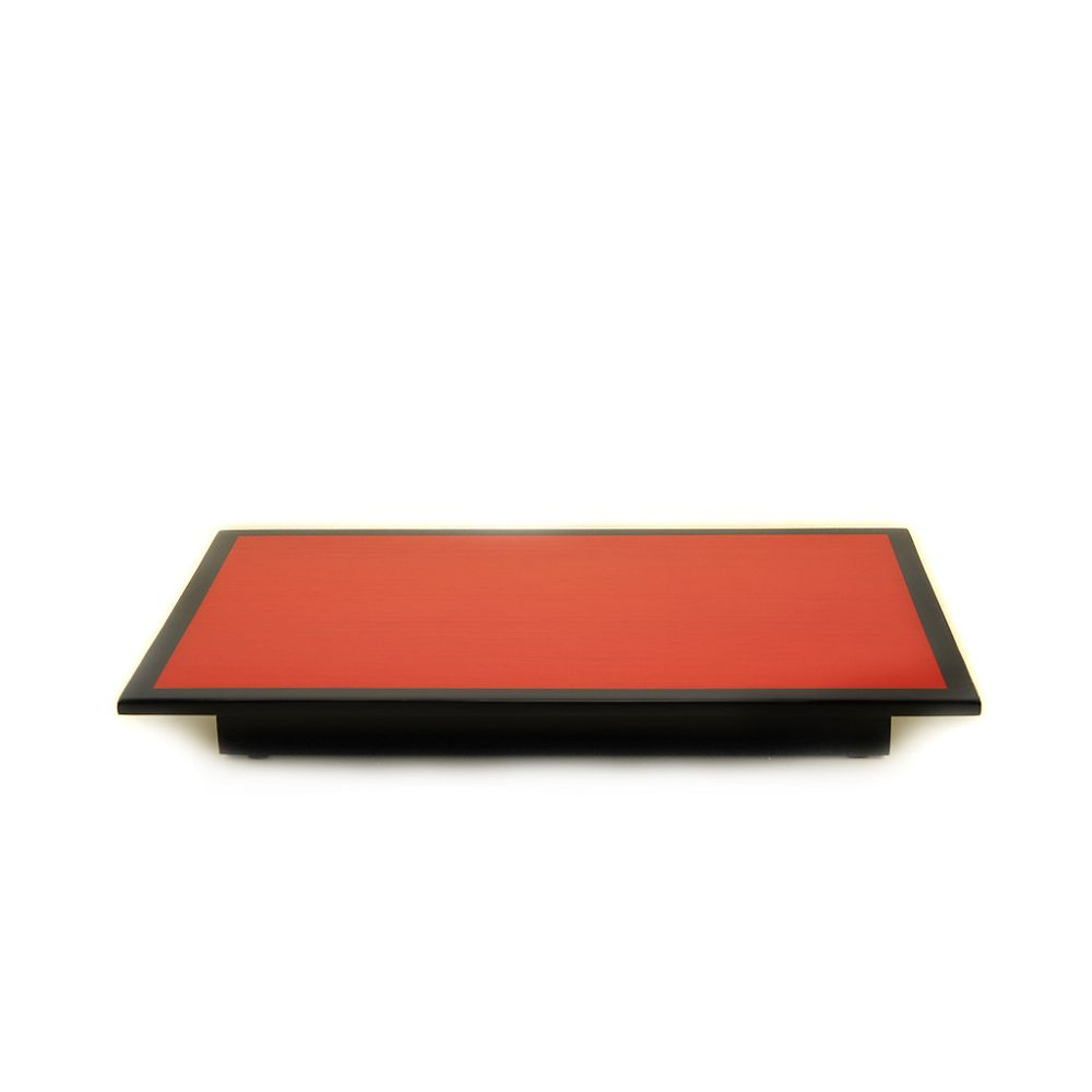 Teavana Red Tulip Lacquer Presentation Tray