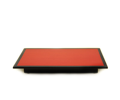 Red Tulip Lacquer Tray