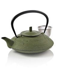 Large Dragonfly Cast Iron Teapot