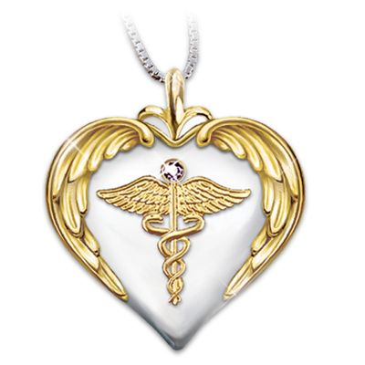 Nurse's Serenity Prayer Pendant
