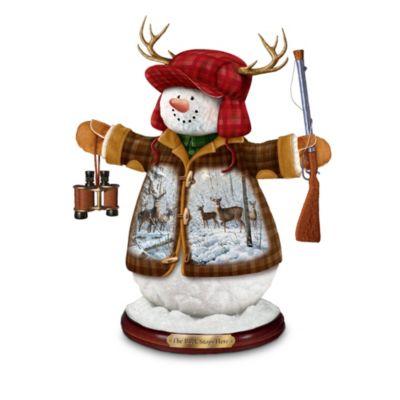 The Buck Stops Here Snowman Figurine