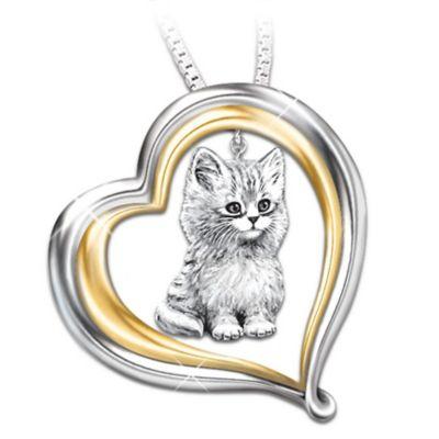 Purr-fect Companion Pendant Necklace