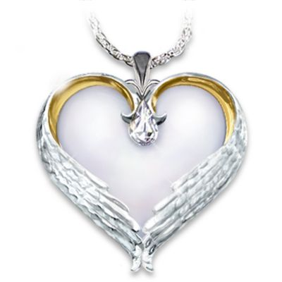 Forever In My Heart Sterling Silver Pendant