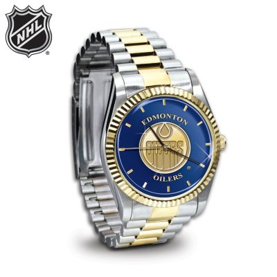 NHL® Edmonton Oilers® Men's Watch