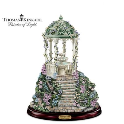 Thomas Kinkade Tranquil Garden Fountain
