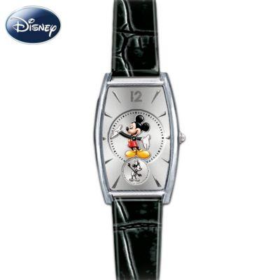 Mickey Now & Then Women's Watch