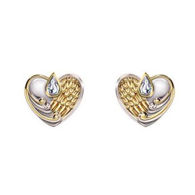 Always In My Heart Pierced Earrings
