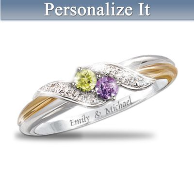 Embrace Personalized Ring
