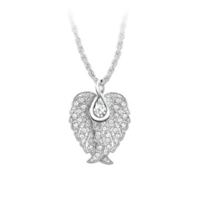 Wings Of An Angel Pendant Necklace