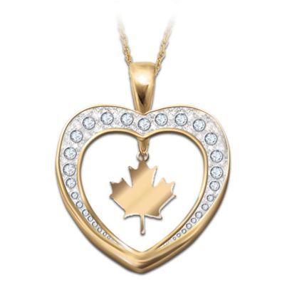 O Canada Pendant Necklace