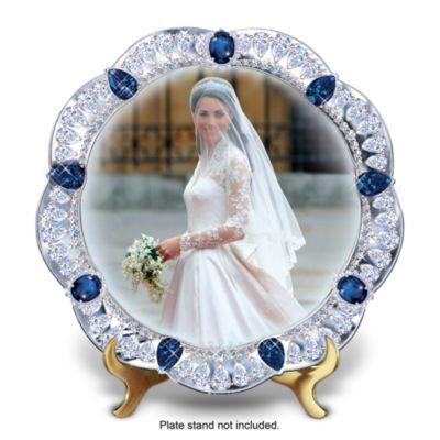 A Royal Bride Collector Plate